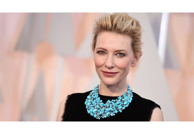 Cate Blanchett - collana Tiffany