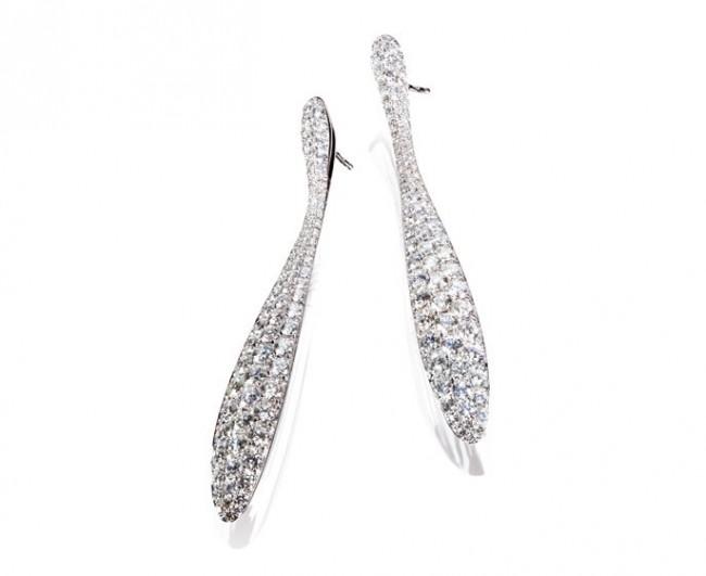 giorgio visconti gioielli orecchini pegaso diamanti