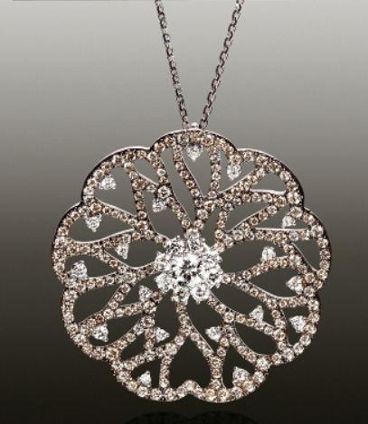 giorgio visconti gioielli ciondolo mizar diamanti oro
