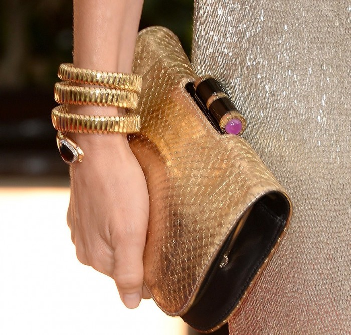 naomi watts bulgari serpenti collection orologio tubogas