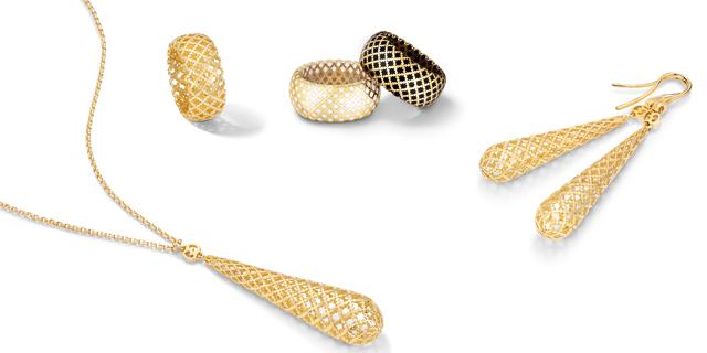 gucci gioielli diamantissima orecchini anelli collana oro