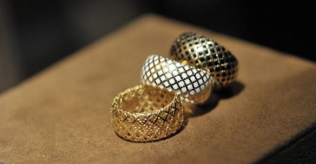 gioielli gucci diamantissima anelli oro traforo smalto