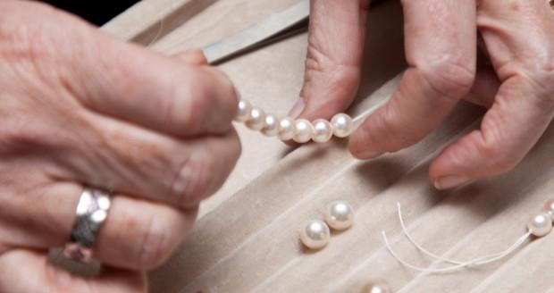 come proteggere le perle rinfilare coll