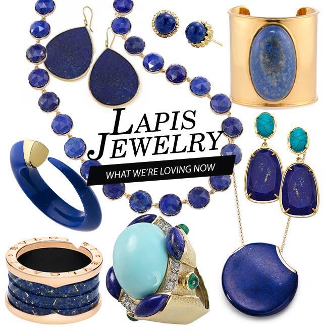 gioielli con lapis lapislazzuli bracciale collane orecchini anelli