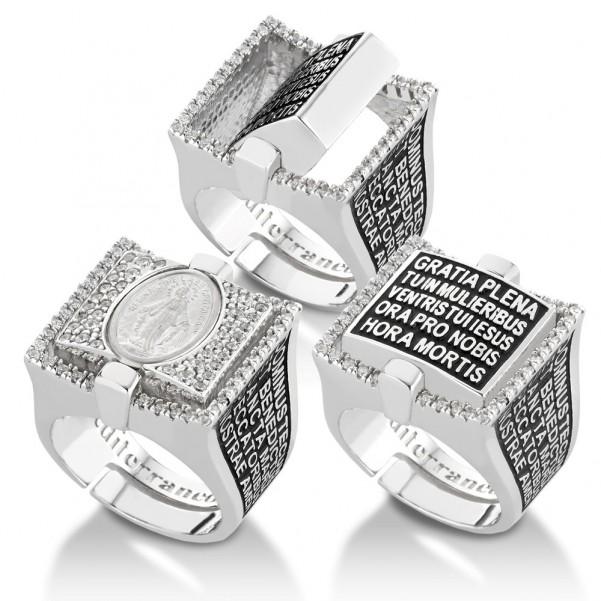 anelli reverso meterraneo gioielli madonna preghiera gioielli sacri