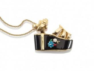 butterfly miniature preziose gioielli salvatore ferragamo ciondolo