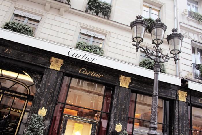 orologi cartier Rue de la Paix parigi