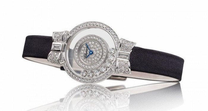 gioielli chopard film diana orologio diamanti happy diamonds