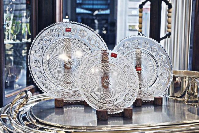 gioielli baccarat piatti cristallo