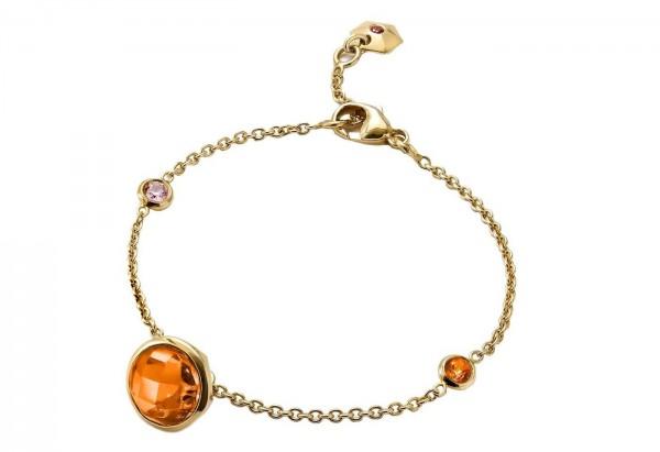 gioielli baccarat bracciale b lovely argento vermeil
