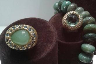 rubinia gioielli resina argento