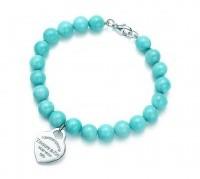 idee regalo gioiello tiffany bracciale amazzonite ciondolo cuore