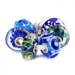 idee regalo gioiello trollbeads set natale prezioso blu