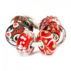 idee regalo gioiello trollbeads set natale amore rosso