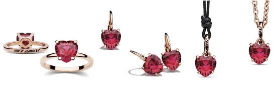 gioielli san valentino idee regalo dodo collezione 100 amore anelli ciondoli orecchini oro 9kt