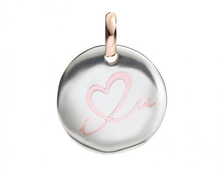 gioielli san valentino idee regalo queriot moneta civita i love you argento ciondolo