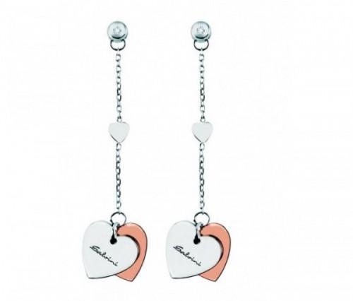 gioielli san valentino idee regalo salvini collezione minimal cuori orecchini pendenti oro argento