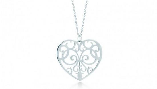 gioielli san valentino idee regalo tiffany ciondolo cuore argento