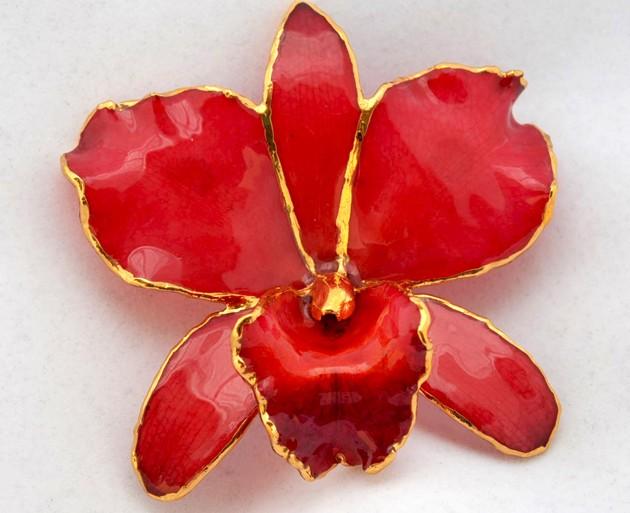 gioielli lipplus orchidea spilla orecchini collana