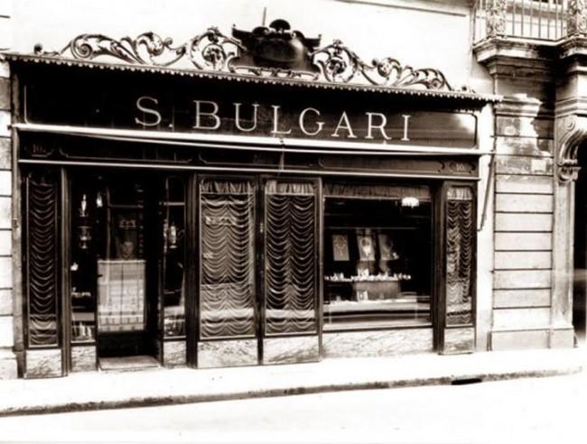 gioielli bulgari boutique storica via condotti roma