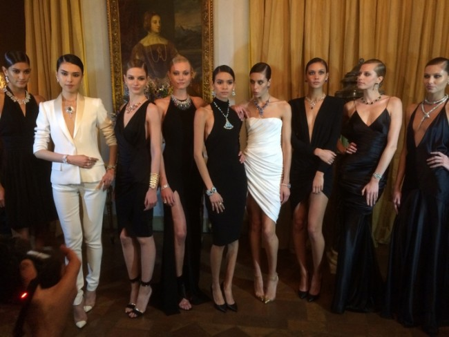gioielli bulgari inaugurazione anniversario via condotti villa nunez torlonia