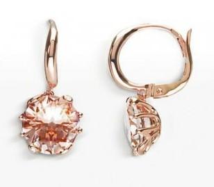 gioielli morganite orecchini dior collezione oui oro