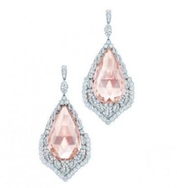 morganite gioielli orecchini tiffany