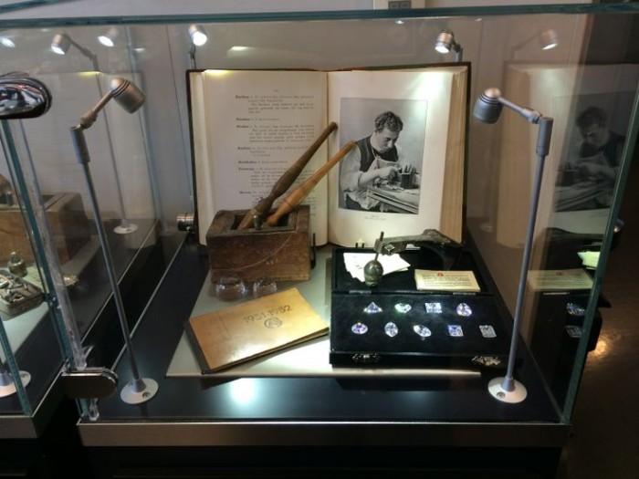 gioielli diamanti gassan amsterdam fabbrica antichi strumenti taglio