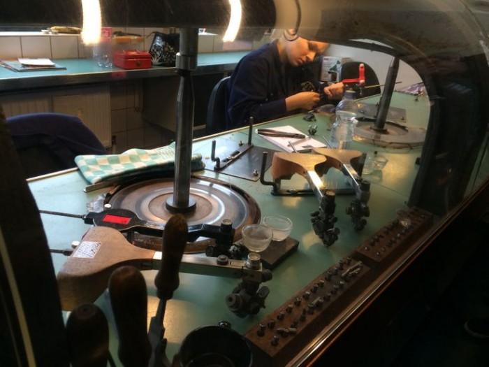 diamanti gassan amsterdam fabbrica stanza taglio gioielli