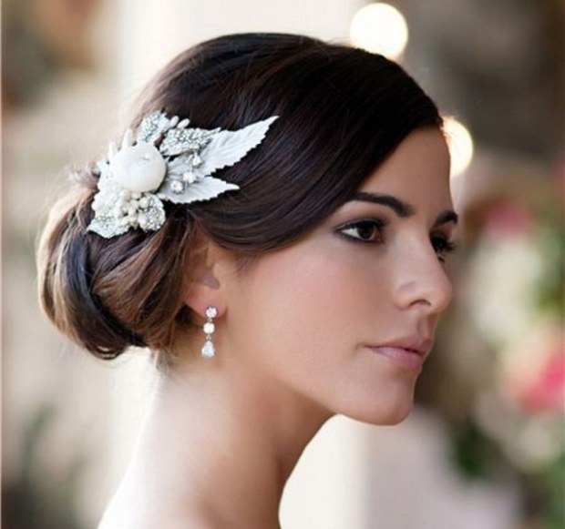 gioielli per la sposa perfetta orecchini acconciatura