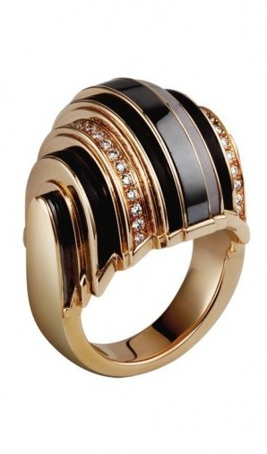 gioielli cartier david donatello kasia smutniak anello paris nouvelle vague oro diamanti quarzo