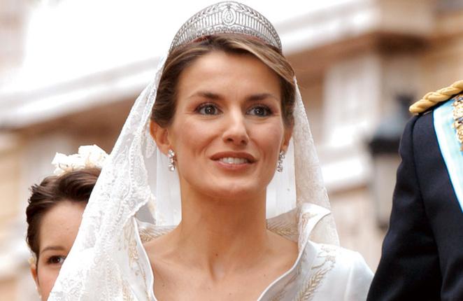 gioielli reali di spagna matrimonio regina letizia tiara prussiana