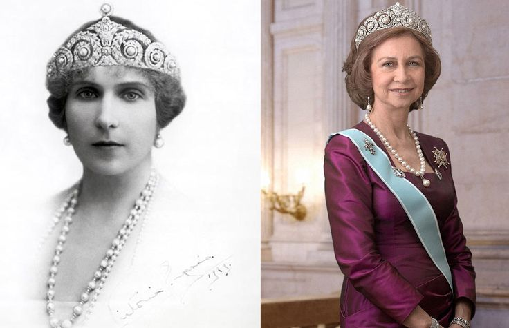 gioielli reali di spagna diadema cartier letizia regina victoria eugenia