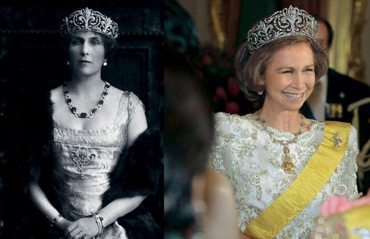 gioielli reali di spagna tiara dei gigli letizia regina