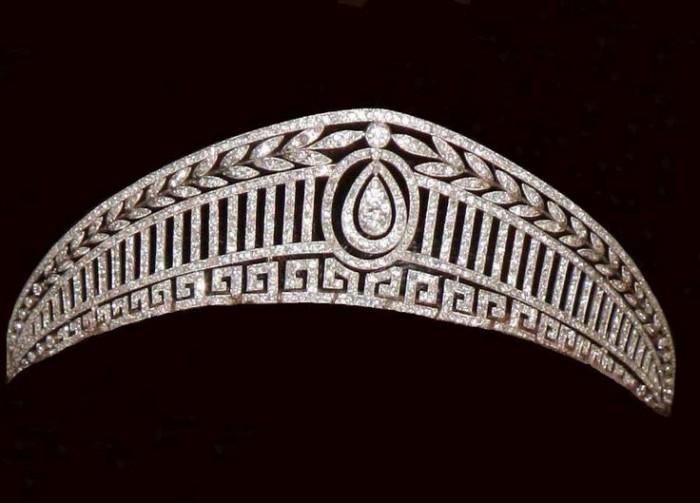 gioielli reali di spagna tiara prussiana diadema regina letizia