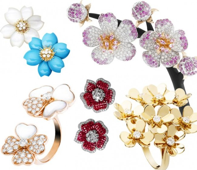 gioielli floreali van cleef and arpels