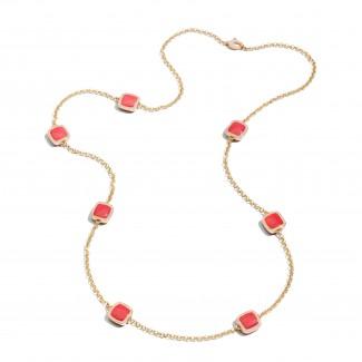 gioielli con corallo vhernier collana diamanti catena lunga cardinale