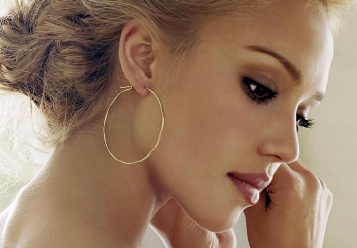 come scegliere orecchini cerchi medi gioielli