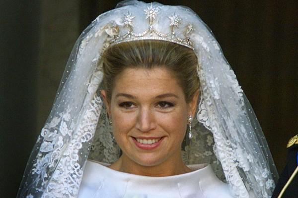 gioielli reali olandesi tiara matrimonio maxima regina olanda