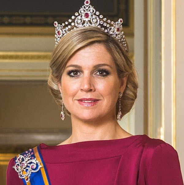 gioielli reali olandesi tiara mellerio regina Maxima Olanda