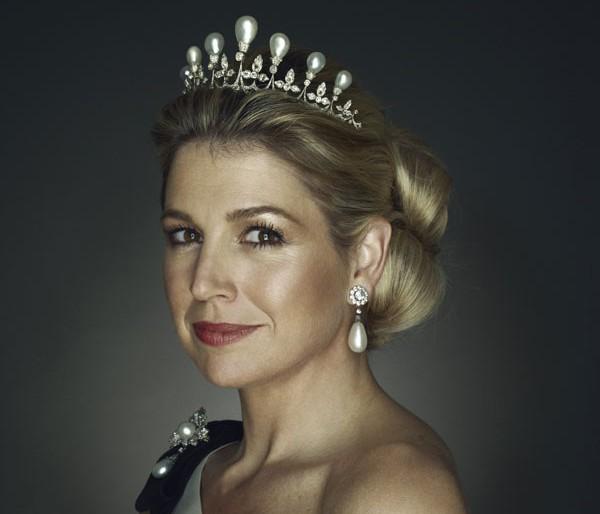 gioielli reali olandesi tiara regina anna regina Maxima olanda