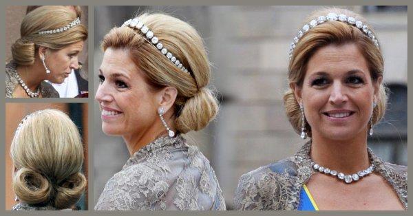 gioielli reali olandesi tiara diamanti taglio rosa regina Maxima Olanda
