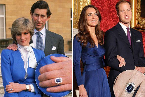 come scegliere gioielli con zaffiri anello fidanzamento kate middleton diana carlo diamanti