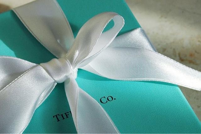 tiffany blue box scatola originale nastro bianco gioielli