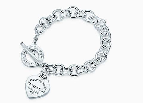 tiffany gioielli originali argento chiusura t