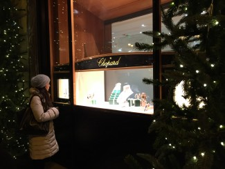 gioielli per natale parigi place vendome chopard