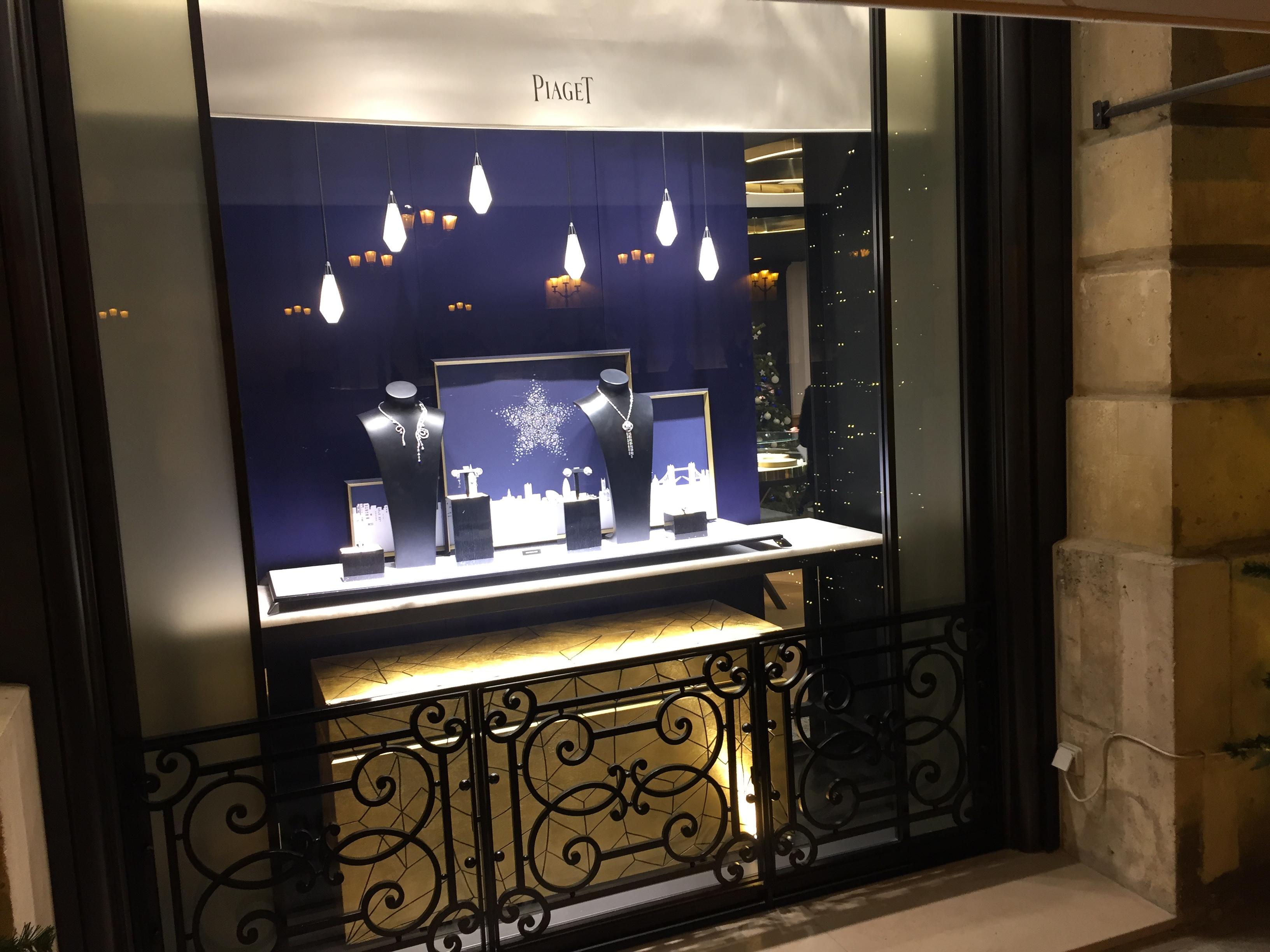 Gioielli per natale le vetrine a parigi molu il blog for Paris vendome gioielli