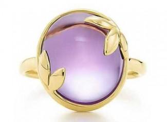 gioielli con ametista anello-cabochon-tiffany