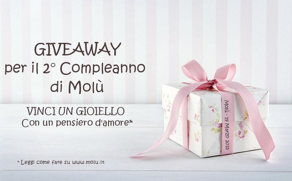giveaway di un gioiello di Molù