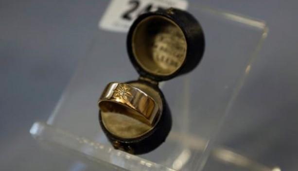 gioielli del titanic anello oro violinista diamante gipsy